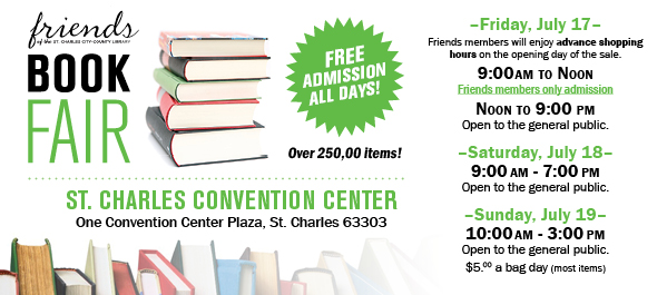 Friends of the Library Book Fair 2015
