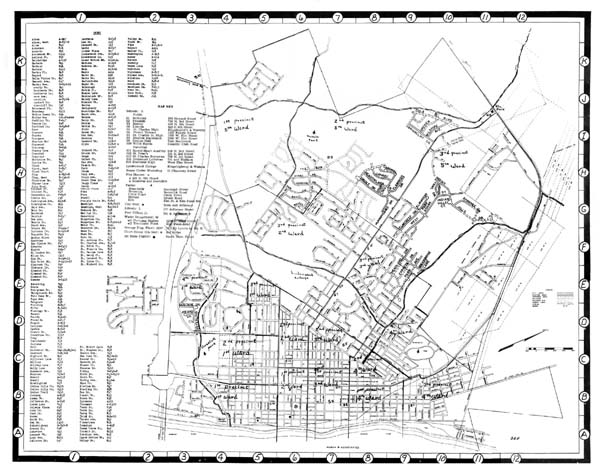 1964 St. Charles Highway Map