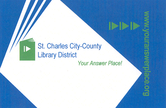 Get A Library Card  St Charles CityCounty Library