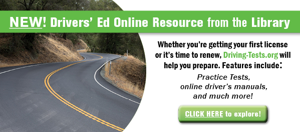 Drivers' Ed Online Resource from the Library