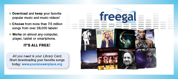 Freegal Music - Download and keep your favorite music & music videos!
