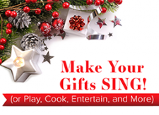 How to make your Christmas Gifts Sing