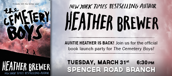 "Auntie Heather Returns with ""The Cemetery Boys"""