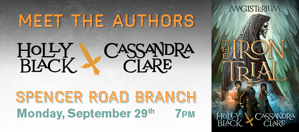 Meet the Authors: Cassandra Clare and Holly Black