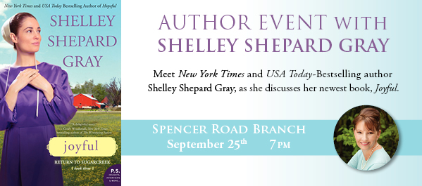 Meet the Author: Shelly Shepard Gray